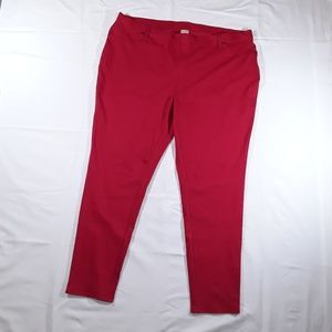 Red Women's Jegging NWT